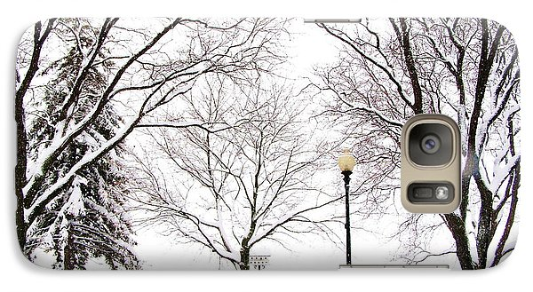 Galaxy Case featuring the photograph Christmas In Skaneateles by Margie Amberge