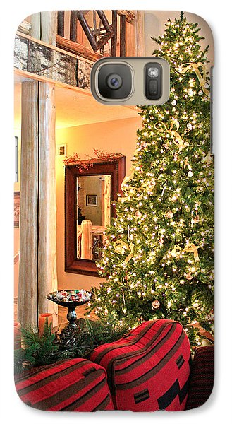 Galaxy Case featuring the photograph Christmas In The Adirondacks by Ann Murphy