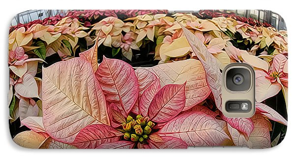 Galaxy Case featuring the photograph Christmas In The Greenhouse by Sami Martin