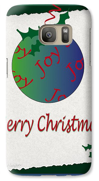 Galaxy Case featuring the photograph Christmas Joy by Terri Harper