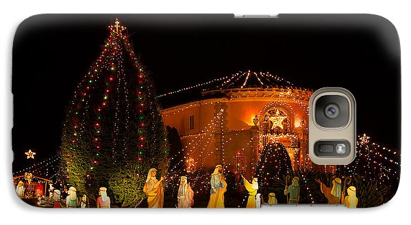 Galaxy Case featuring the photograph Christmas Nativity Scene by Ram Vasudev