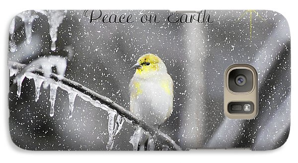 Galaxy Case featuring the photograph Christmas Peace by Linda Segerson