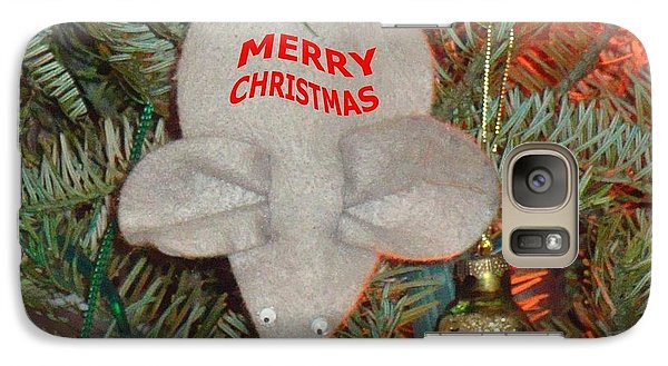 Galaxy Case featuring the photograph Christmas Tree Mouse by Joseph Baril