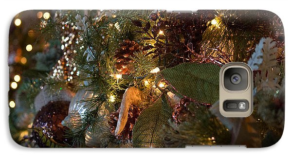 Galaxy Case featuring the photograph Christmas Tree Splendor by Patricia Babbitt