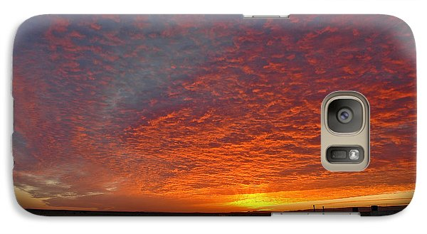 Galaxy Case featuring the photograph Christmas Valley Sunrise by Nick  Boren