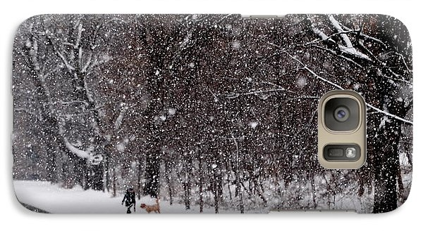 Galaxy Case featuring the photograph Christmas Walk by Jacqueline M Lewis