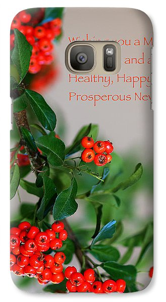 Galaxy Case featuring the photograph Christmas Wishes by Annette Hugen