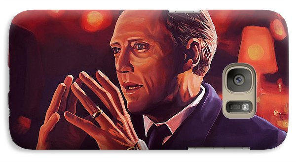 Christopher Walken Painting Galaxy S7 Case