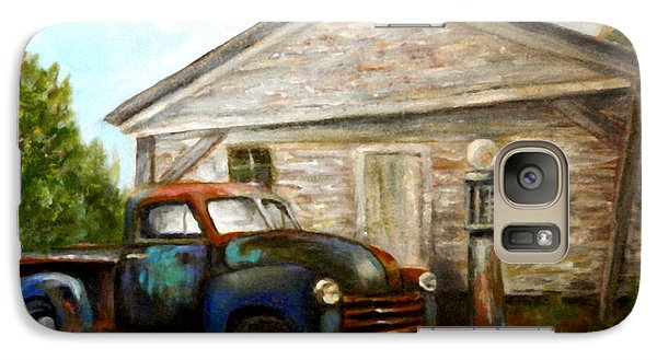 Galaxy Case featuring the painting Chromatic Chevy by Sandra Nardone