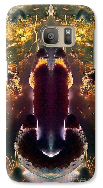 Galaxy Case featuring the photograph Chrome by Karen Newell