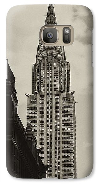 Chrysler Building Galaxy S7 Case - Chrysler by Andrew Paranavitana