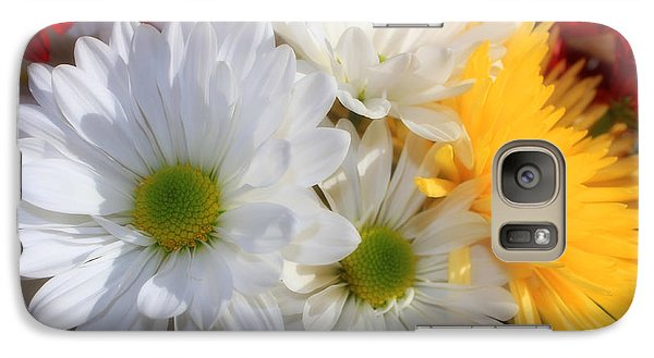 Galaxy Case featuring the photograph Chrysanthemum Punch by Cathy  Beharriell