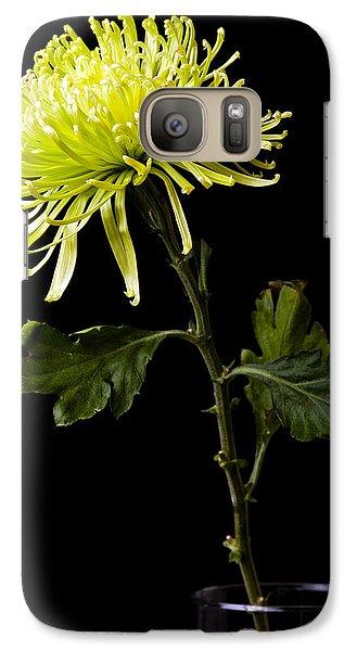 Galaxy Case featuring the photograph Chrysanthemum by Sennie Pierson