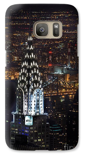 Chrysler Building Galaxy S7 Case - Chrysler Buiilding by John Farnan