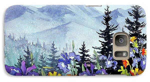 Galaxy Case featuring the painting Chugach Summer by Teresa Ascone