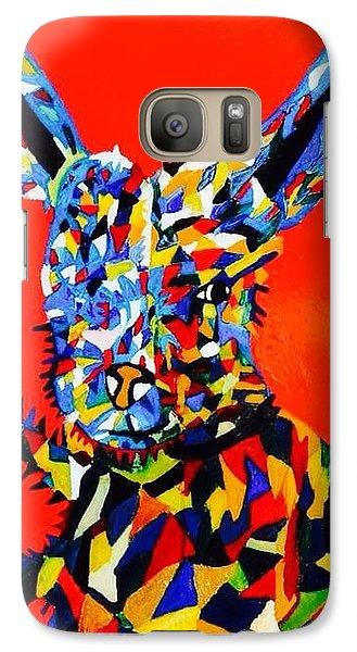 Galaxy Case featuring the painting Chump  by Inga Kirilova