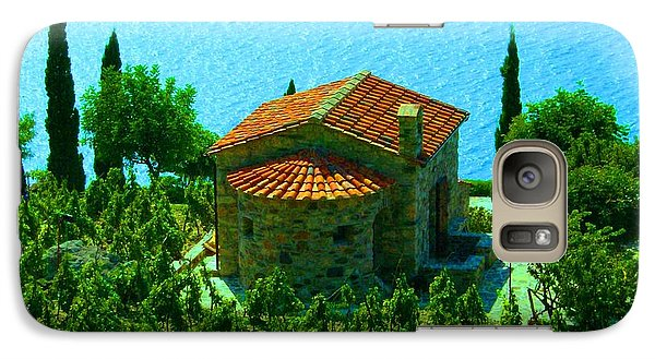 Galaxy Case featuring the photograph Enchanted Church Between Sea And Nature by Giuseppe Epifani