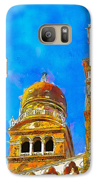 Galaxy Case featuring the painting Church Of Madonna Dell'orto by Greg Collins