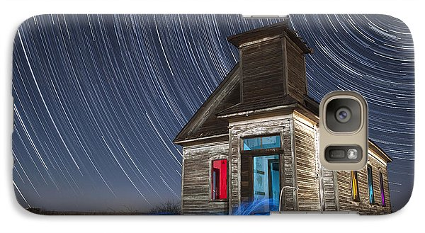 Galaxy Case featuring the photograph Church Of Taiban by Keith Kapple