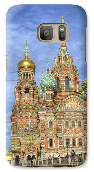 Church Of The Saviour On Spilled Blood. St. Petersburg. Russia Galaxy Case by Juli Scalzi