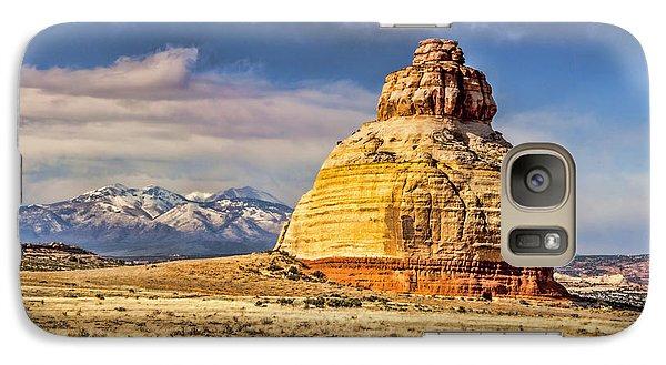 Galaxy Case featuring the photograph Church Rock by Daniel Hebard