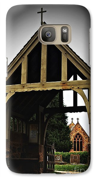 Galaxy Case featuring the photograph Church by Serene Maisey