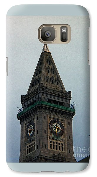 Galaxy Case featuring the photograph Church Steeple In Boston by Gena Weiser