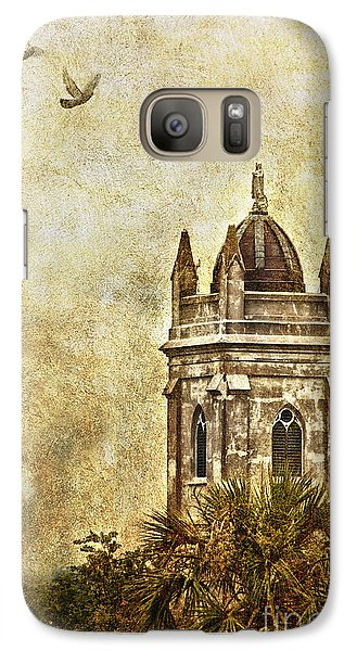 Galaxy Case featuring the photograph Church Steeple by Linda Blair