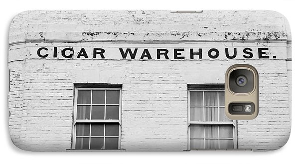Galaxy Case featuring the photograph Cigar Warehouse by Ross Henton