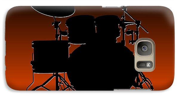Cincinnati Bengals Drum Set Galaxy S7 Case by Joe Hamilton