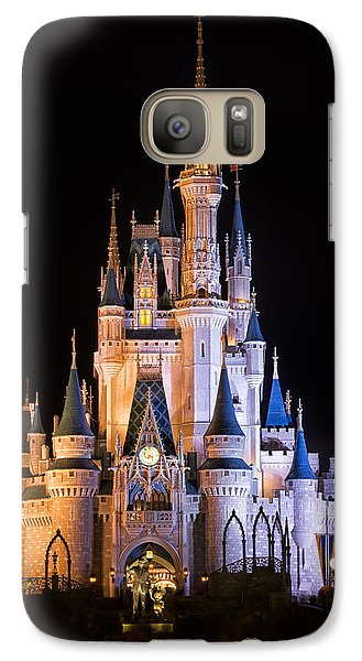 Cinderella's Castle In Magic Kingdom Galaxy S7 Case