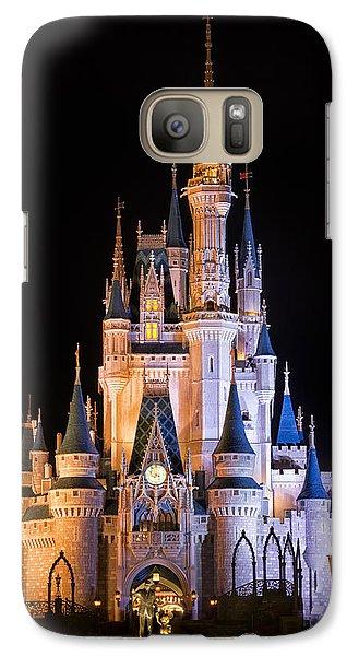 Cinderella's Castle In Magic Kingdom Galaxy S7 Case
