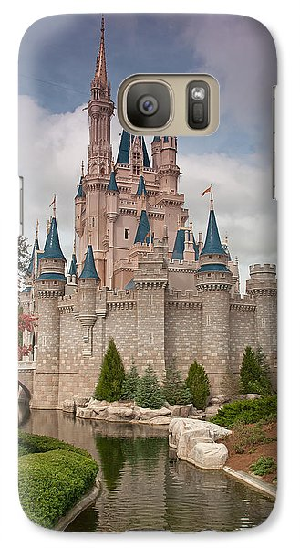 Galaxy Case featuring the photograph Cinderella's Enchanted Castle by John Black