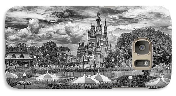 Galaxy Case featuring the photograph Cinderella's Palace by Howard Salmon