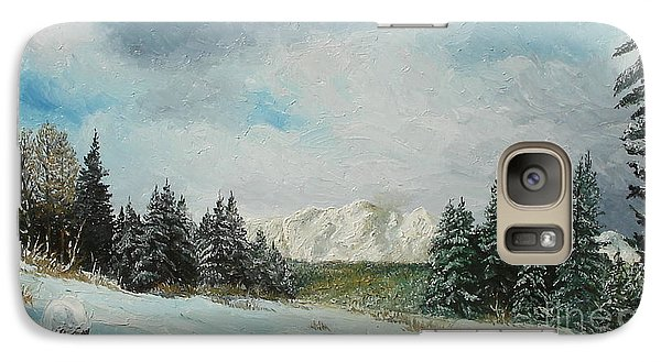 Galaxy Case featuring the painting Cioplea by Sorin Apostolescu