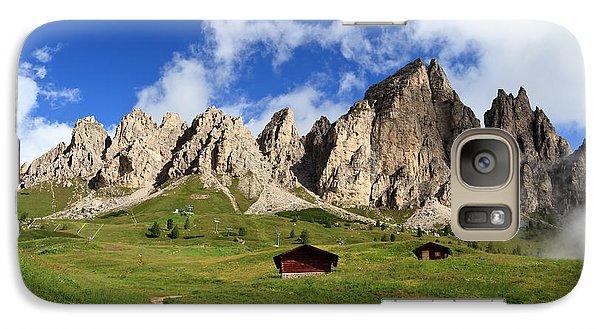 Galaxy Case featuring the photograph Cir Group - Gardena Pass by Antonio Scarpi