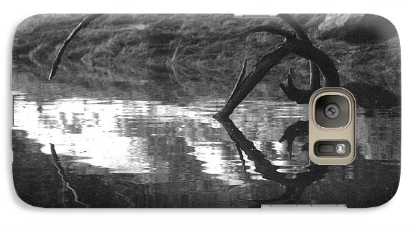 Galaxy Case featuring the photograph Circle And Heart by Cynthia Lagoudakis