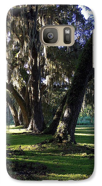 Galaxy Case featuring the photograph Circle B Bar  by Chris Mercer