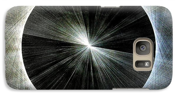 Galaxy Case featuring the drawing Circles Do Not Exist 720 The Shape Of Pi by Jason Padgett