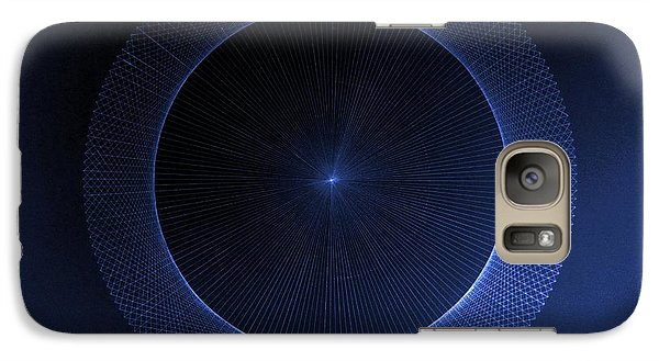 Galaxy Case featuring the drawing Circles Don't Exist Pi 180 by Jason Padgett