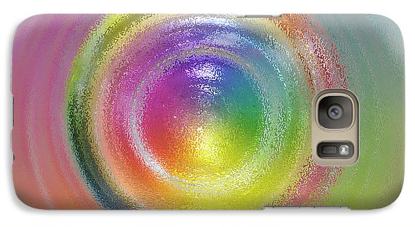 Galaxy Case featuring the photograph Circles by Geraldine Alexander