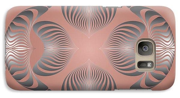 Galaxy Case featuring the digital art Circularity No. 13 by Alan Bennington