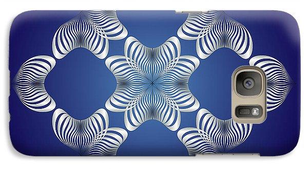 Galaxy Case featuring the digital art Circularity No. 14 by Alan Bennington