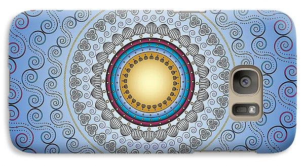Galaxy Case featuring the digital art Circularity No. 17 by Alan Bennington