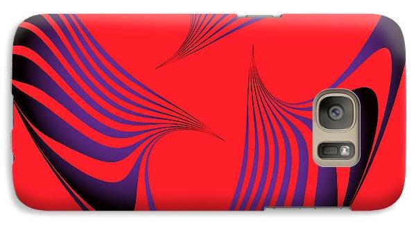 Galaxy Case featuring the digital art Circularity No. 19 by Alan Bennington