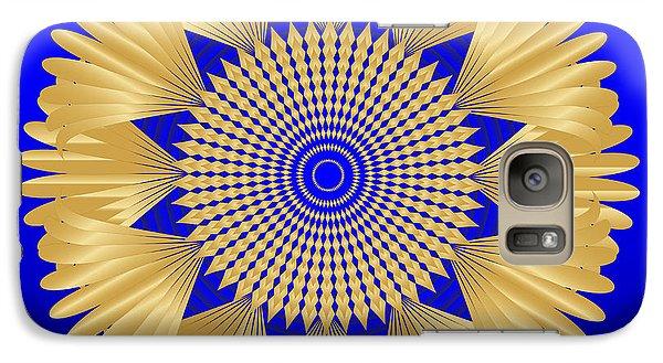 Galaxy Case featuring the digital art Circularity No. 32 by Alan Bennington