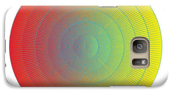 Galaxy Case featuring the digital art Circularity No. 36 by Alan Bennington