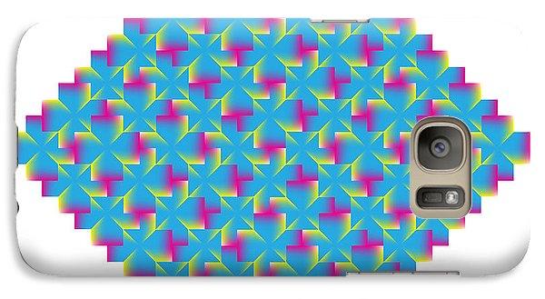 Galaxy Case featuring the digital art Circularity No. 45 by Alan Bennington