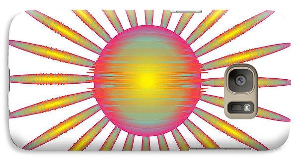 Galaxy Case featuring the digital art Circularity No. 46 by Alan Bennington