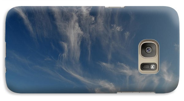 Galaxy Case featuring the photograph Cirrus Collection  by Lyle Crump